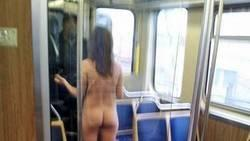 Naked woman in chicago Metro