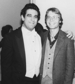 John Denver and Placido Domingo