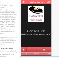 APPLICATIONS SMARTPHONES : RADIO SATELLITE et  RADIO SATELLITE2