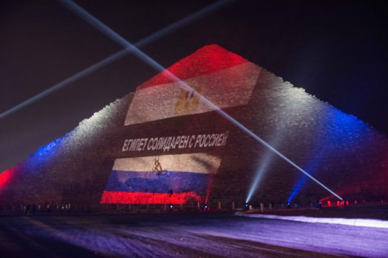 pyramids russia