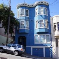 UNE MAISON BLEUE...SAN FRANCISCO