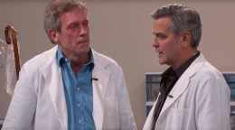 Dr House and Dr Ross ( GClooney)
