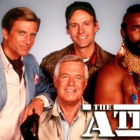 THE A TEAM & GEORGE PEPPARD