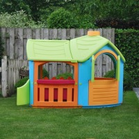 A play house, homemade