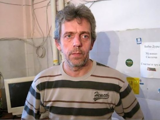 Russian Hugh Laurie Dr House