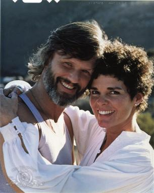 Ali and Kris Kristofferson in Convoy