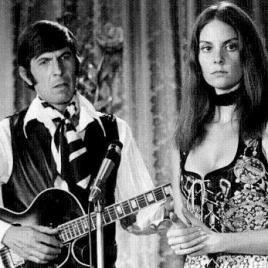 Leonard Nimoy and Lesley Ann Warren