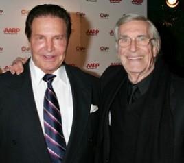 Peter Lupus and Martin Landau