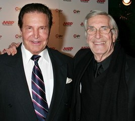 Peter Lupus and Martin Landau