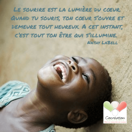 Utiliser le pouvoir du sourire pour diminuer son stress par Mme MoniqueDesjardin
