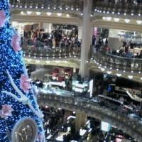 SOUVENIR CHRISTMAS 2013 / Paris Lafayette