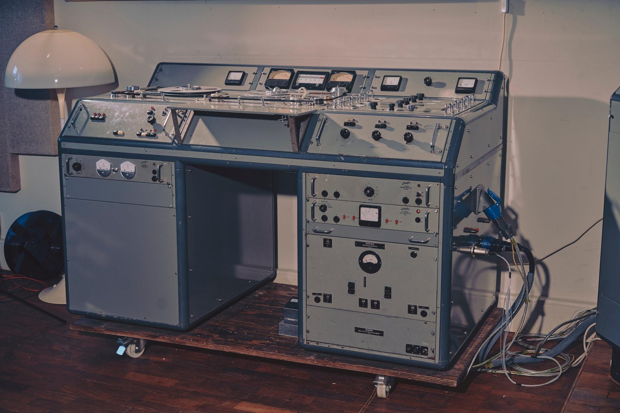 original Lyrec T818 tape machine