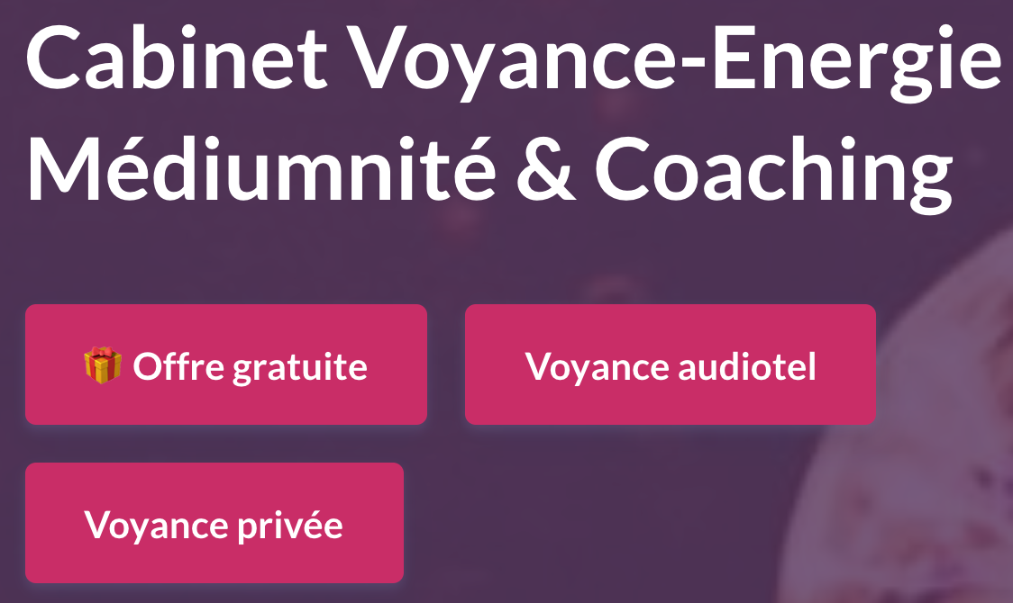 CABINET DE VOYANCE MEDIUM COACHING